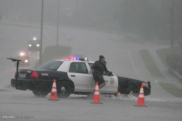 طوفان در تگزاس آمریکا