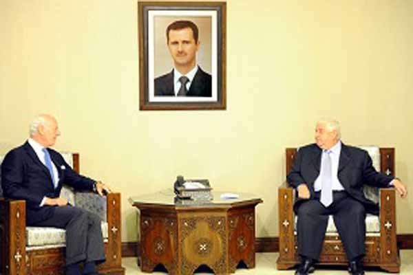 المعلم يؤكد استعداد سوريا للمشاركة في اجتماعات جنيف في الموعد المقترح