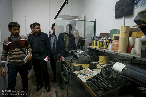 'November 4' museum held in 'Den of Spies'