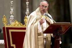 حالات تیزی سے تیسری عالمی جنگ کی طرف جارہے ہیں، پوپ فرانسس