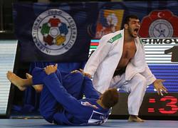 Iranian Judoka finishes 5th in Grand Slam