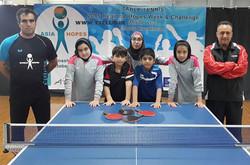 Junior T tennis players win tickets to 2016 ITTF Hopes Program