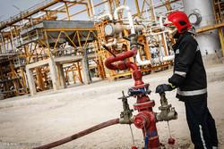 رزمایش مقابله با شرایط اضطراری در پالایشگاه گاز پارسیان