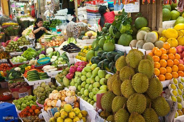 بازارهای میوه و سبزی جات در کشورهای مختلف