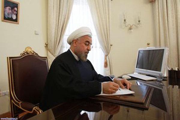 President Rouhani felicitates Lebanon's Aoun on election