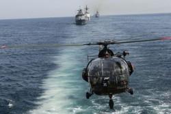 انطلاق المناورات البحرية الايرانية في الخليج الفارسي وبحر عمان