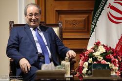 Syria's Faisal Mekdad to meet with Zarif in Tehran