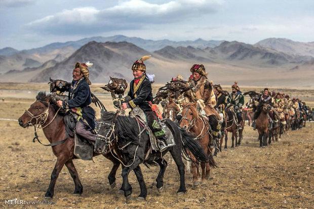 مهرجان النسر الذهبي في منغوليا