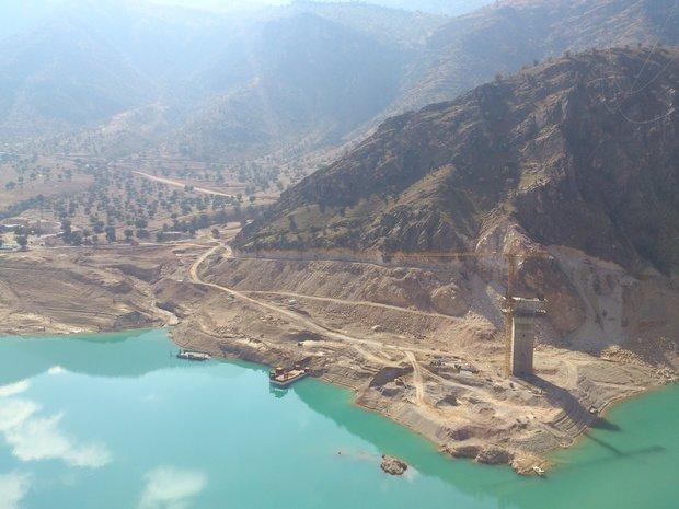 ساخت بزرگترین پل کابلی کشور در سد کارون ۳