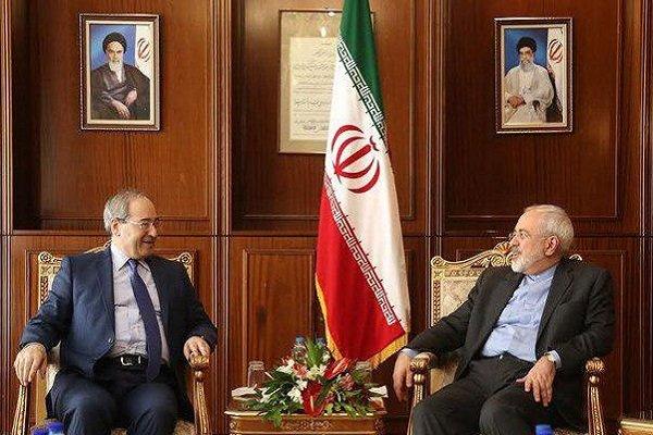 ایران اور شام کے وزراء خارجہ کی ٹیلیفون پر گفتگو/ شام کی تازہ ترین صورتحال پر تبادلہ خیال