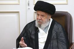 آیت الله ملک حسینی رحلت آیت الله العظمی موسوی اردبیلی راتسلیت گفت