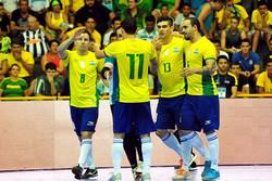 منتخب البرازيل لكرة القدم داخل الصالات يرغب في المجيء الى ايران
