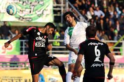 فوز ذوب آهن على برسبوليس في اطار الدوري الايراني الممتاز لكرة القدم