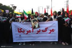 راهپیمایی یوم الله 13 آبان در اهواز