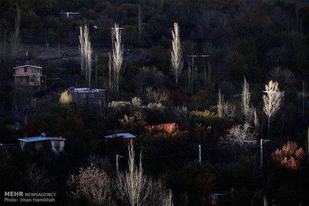 ألوان تشرين في همدان