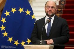 دیدار هیات پارلمانی اتحادیه اروپا با رئیس مجلس شورای اسلامی