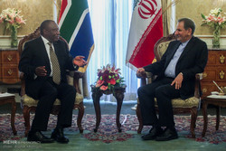 استقبال رسمی معاون رئیس جمهور آفریقای جنوبی