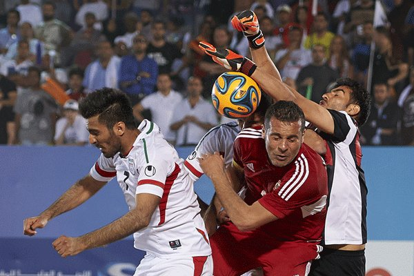 Iran ranks 3rd in Beach Soccer Intercontinental Cup