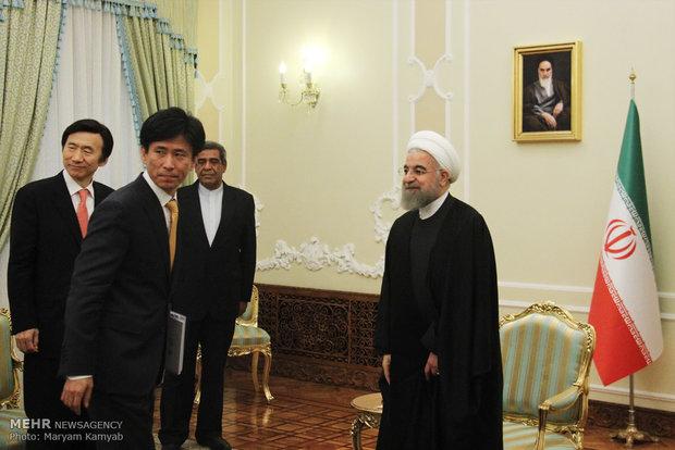 دیدار وزیر امور خارجه کره جنوبی با رئیس جمهور
