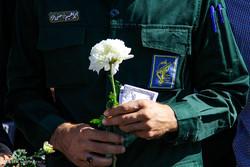 مراسم تشییع پیکر  سه شهید دوران دفاع مقدس