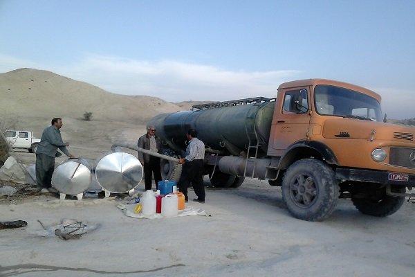 ۱۱۸ روستای زیر ۲۰ خانوار استان با تانکر آبرسانی می شوند