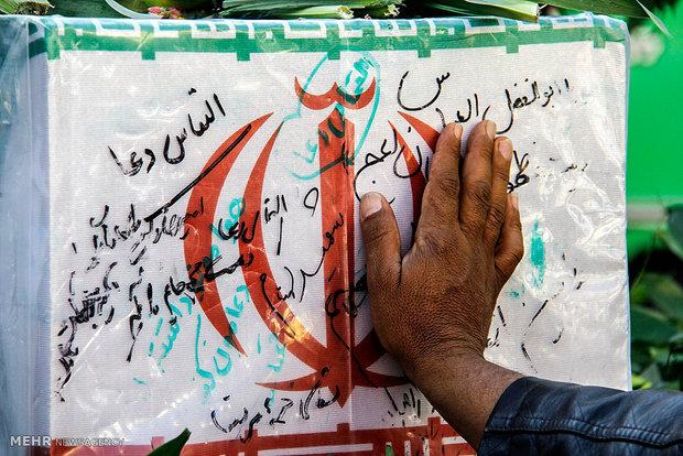 آثار بهجای مانده از شهیدان گنجینههای معنوی ایران اسلامی هستند