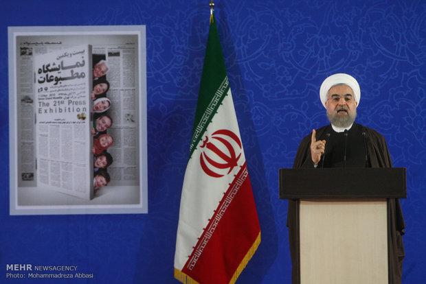 روحاني: ايران تدخل في سوق التجارة النووية