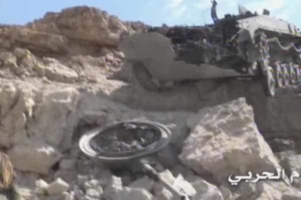 تدمير آلية سعودية ومصرع طاقمها شمال صحراء ميدي