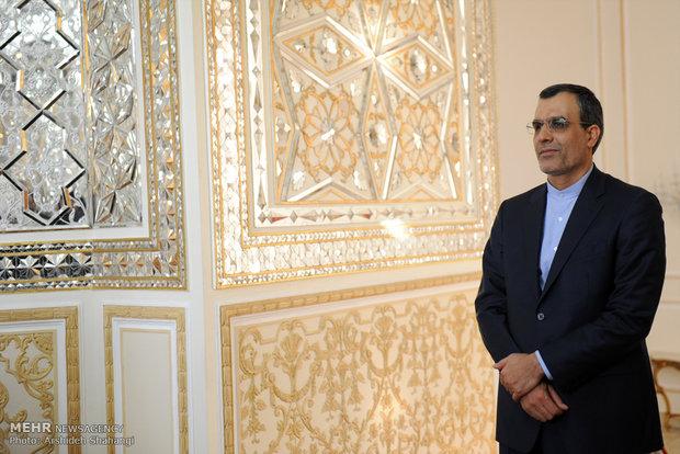 تقديم وتوديع المتحدث باسم وزارة الخارجية