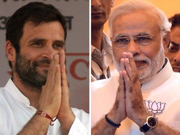 راہول گاندی و مودی