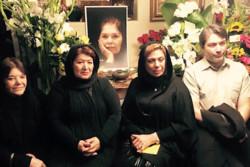 چهلمین روز درگذشت هما روستا در کالیفرنیا برگزار شد