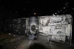 ۱۱ فوتی و ۱۲ مجروح در برخورد دو مینیبوس بعد از مرز چذابه/ ۹ فوتی عراقی هستند