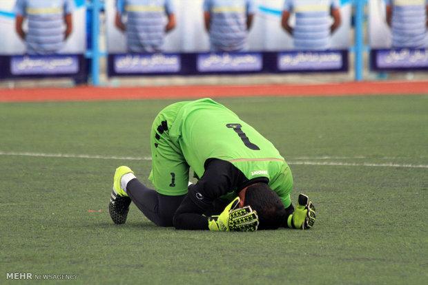 تیم فوتبال فجر شهید سپاسی از مسابقات نظامیان جهان حذف شد