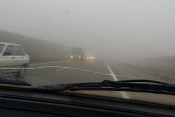 آخرین وضعیت محورهای مواصلاتی خراسان جنوبی/برخی جاده ها مه آلوداست
