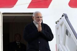 وصول رئيس وزراء الهند الى ايران