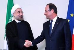 هولاند يعلن ان الرئيس روحاني سيزور باريس نهاية شهر يناير القادم