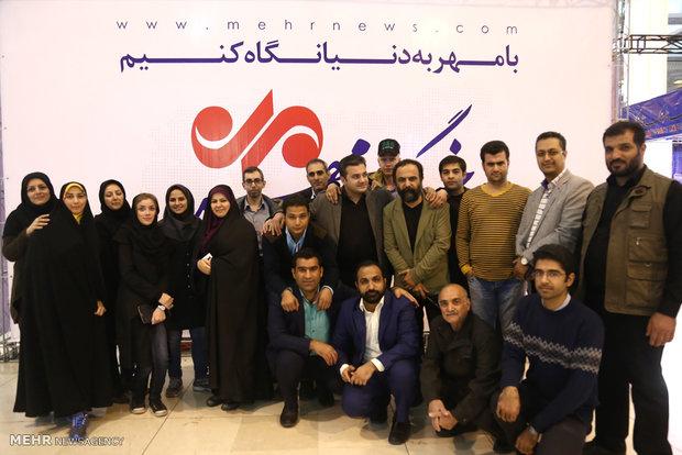 غرفه خبرگزاری مهر
