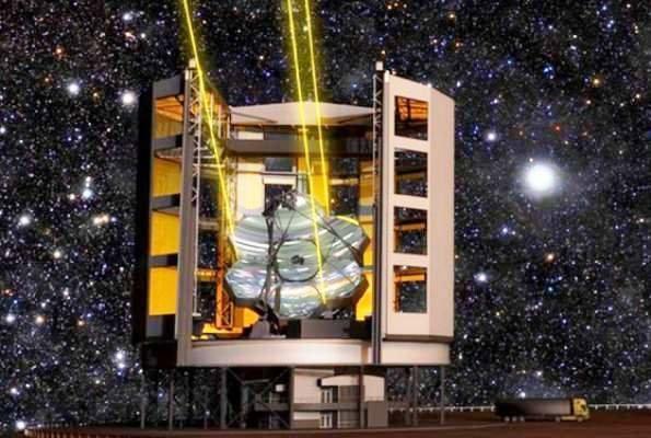 بزرگترین تلسکوپ جهان