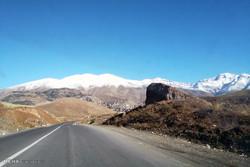 کاهش دما و بارش برف در ارتفاعات استان تهران