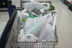 مصرف کیسه های پلاستیکی را کم کنید/آسیب محیط زیست