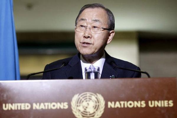 «بان کی مون» انفجارهای تروریستی آنکارا را محکوم کرد
