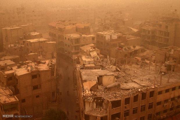 مقارنة بين دمشق وباريس