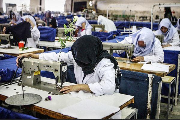 یک شاغل از هر ۹ زن در سن کار/فعالیت نیمی از زنان در مشاغل غیررسمی