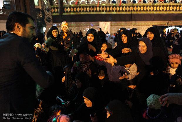 مائدة السيدة رقية بنت الامام الحسين في طهران