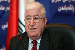 """فؤاد معصوم يؤكد التنسيق الايراني-العراقي لمواجهة """"داعش"""" في العراق"""