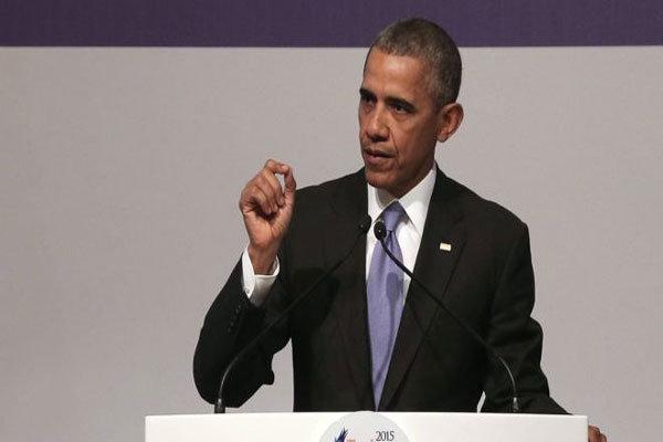 اوباما:نمیتوانیم مقابل فشارهای بینالمللی از اسرائیل حمایت کنیم