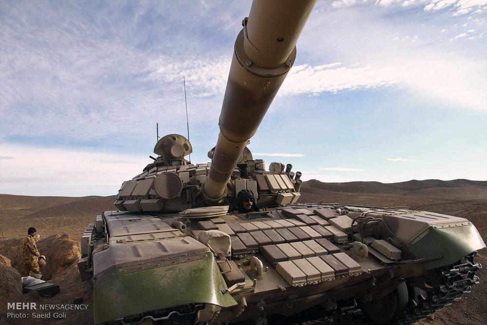 رزمایش ارتش در تربت جام
