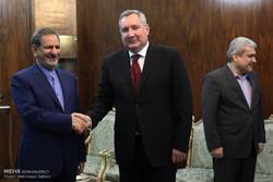 دیدار معاون نخست وزیر روسیه با معاون اول رئیس جمهور