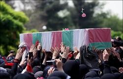 پیکر مطهر شهید ابراهیم محمدیان فردا در قصرشیرین تشییع می شود