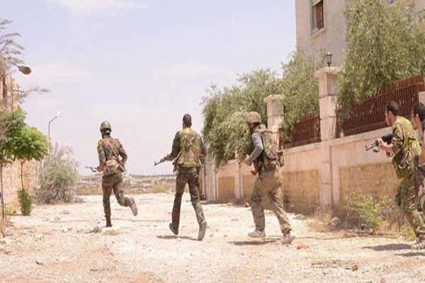 شامی فوج کا عین البیضاء گاؤں پر قبضہ